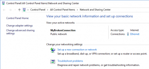 Can't change Public Network to a Private Network on Windows 10 PC or Windows Server 2012