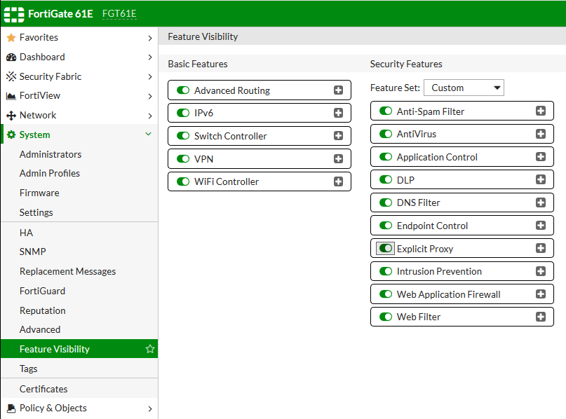 Fortinet FortiGate Transparent Web Proxy on v6 x Setup Walkthrough -